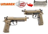 Beretta M9A3 FDE Umarex 5.8347 - Пневматический пистолет Beretta M9A3 FDE Umarex 5,8347 Калибр: 4,5 мм Тип пневматики: Газобаллонная Источник питания: 12гр. баллон CO2 Затворная рама: металлический затвор c блоу-бэк
